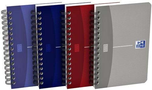 Spiraalblok Oxford Essentials 90x140mm 90vel gelinieerd