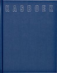 Kasboek 165x210mm 192blz 1 kolom blauw