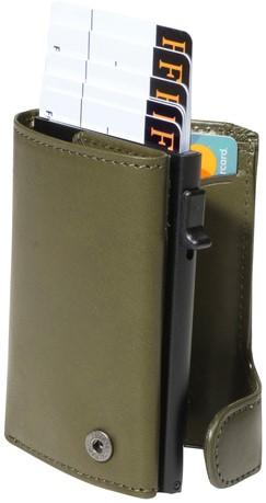 Portemonnee Tony Perotti Furbo RFID leer groen