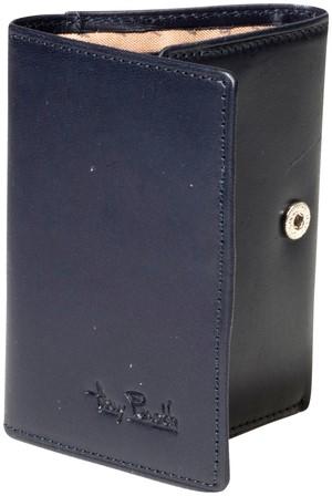 Portemonnee Tony Perotti Furbo Pure RFID leer blauw