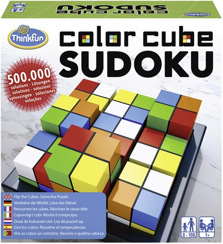 Smartgame Think Fun Color Cube Sudoku