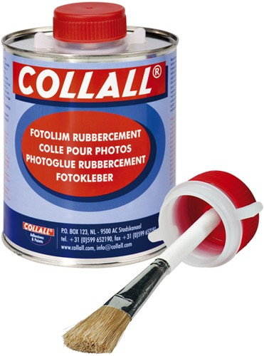 Rubbercement Collall 1000ml + kwast