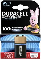 Batterij Duracell Ultra Power 9Volt MX1604