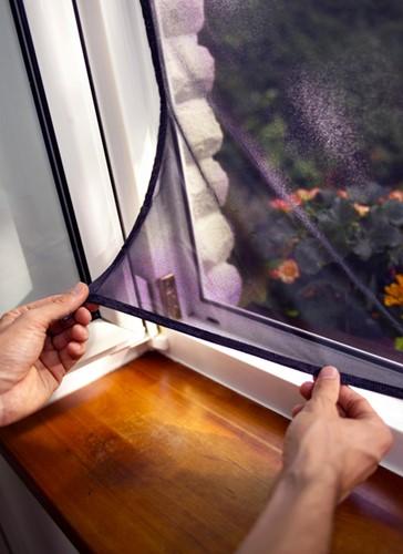 Insectenhor Tesa 55671 voor raam 1,1x1,3m wit-3