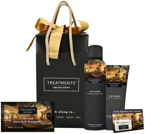 Cadeautas Treatments Ceylon + 1 voucher