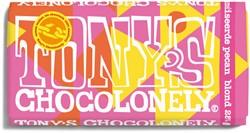Chocolade Tony's Chocolonely Blond 28% pecan 180gr