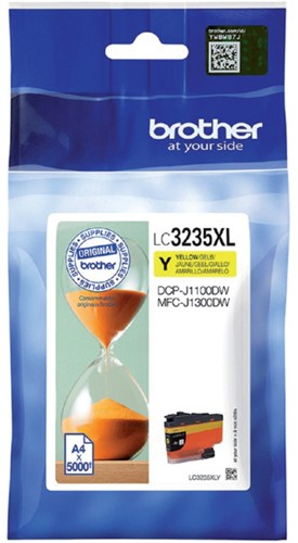 Inkcartridge Brother LC-3235XL geel HC