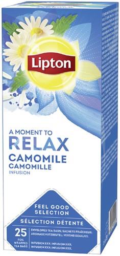 Thee Lipton Relax Kamille 25stuks