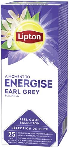 Thee Lipton Energise Earl Grey 25stuks