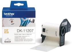 LABEL ETIKET BROTHER DK-11207 58MM CD/DVD WIT