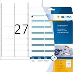 NAAMBADGE ETIKET HERMA 4419 63.5X29.6MM 675ST ZELFKL