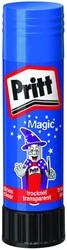Lijmstift Pritt Magic 20gr blauw op blister