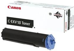 Tonercartridge Canon C-EXV 18 zwart