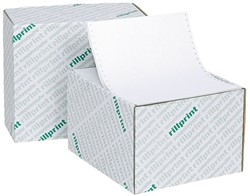"Computerpapier 240x12"" blanco microperforatie 80gr 2000vel"