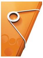 3-klepsmap Leitz WOW A4 PP oranje-1