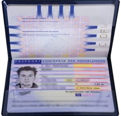 Beveiligingsmap Kangaro Hidentity voor paspoort