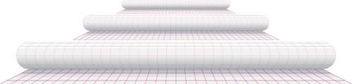 Kaftplastic Boeklon 33cmx1m zelfklevend  transparant