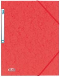 Elastomap Elba A4 met rugetiket rood