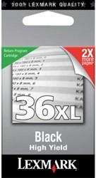 Inkcartridge Lexmark 18C2170E 36XL prebate zwart HC