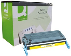 TONERCARTRIDGE Q-CONNECT HP C9722A 8K GEEL