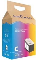 Inkcartridge Wecare Canon CL-41 kleur