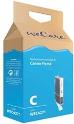 Inkcartridge Wecare Canon CLI-521 blauw