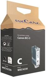 Inkcartridge Wecare Canon BCI-3 zwart