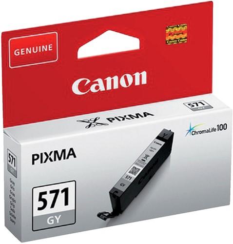 Inktcartridge Canon CLI-571 grijs