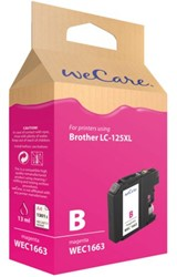 Inkcartridge Wecare Brother LC-125XL rood