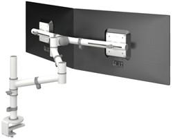 monitorarm Dataflex Viewgo 130 met bureauklem wit