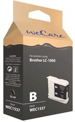 INKCARTRIDGE WECARE BRO LC-1000 ZWART