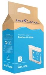INKCARTRIDGE WECARE BRO LC-1000 BLAUW