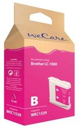 INKCARTRIDGE WECARE BRO LC-1000 ROOD