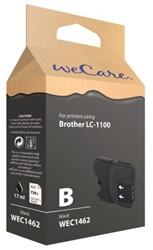 INKCARTRIDGE WECARE BRO LC-1100 ZWART