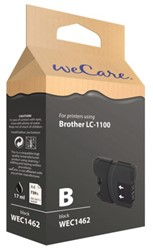 Inkcartridge Wecare Brother LC-1100 zwart
