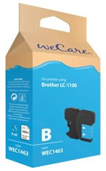INKCARTRIDGE WECARE BRO LC-1100 BLAUW