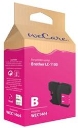 INKCARTRIDGE WECARE BRO LC-1100 ROOD