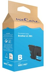 Inkcartridge Wecare Brother LC-985 blauw