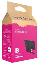 Inkcartridge Wecare Brother LC-985 rood