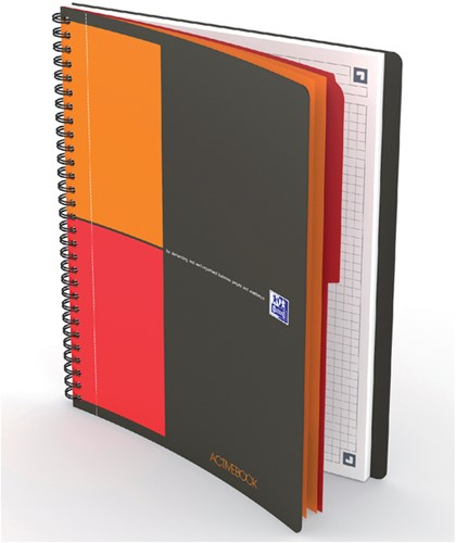 Notitieboek Oxford Activebook Connect B5 ruit