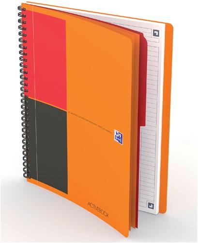 Notitieboek Oxford Activebook Connect B5 lijn