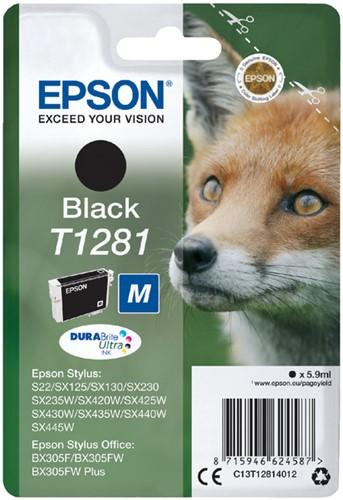 Inktcartridge Epson T1281 zwart