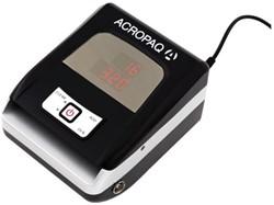 Valsgeld detector Acropaq AT110 grijs zwart