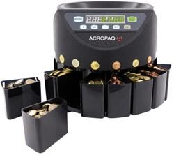 Geldtelmachine Acropaq CC601 voor munten zwart