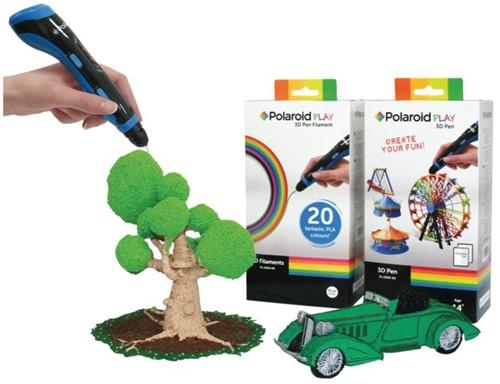 3D Polaroid display 9st 3D pennen en 9st navullingen-1