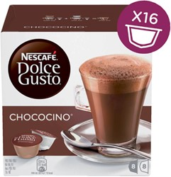 DOLCE GUSTO CHOCOCINO 16 CUPS / 8 DRANKEN