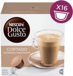 Koffie Dolce Gusto Espresso Cortado 16 cups