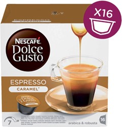 Koffie Dolce Gusto Espresso Caramel 16 cups