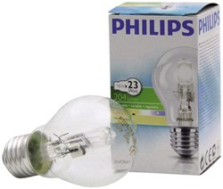 HALOGEENLAMP PHILIPS E27 18W 230V A55 ECOCLASSIC