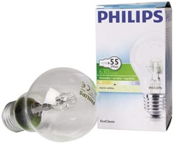 HALOGEENLAMP PHILIPS E27 42W 230V A55 ECOCLASSIC